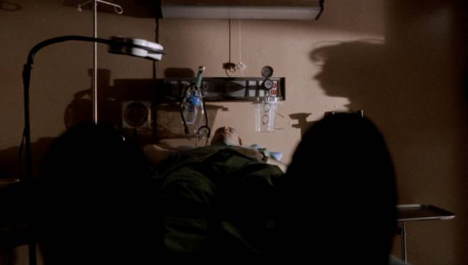 Dr. Mark Green, asleep in an emergency room, is woken up by a nurse after bareley getting any sleep.