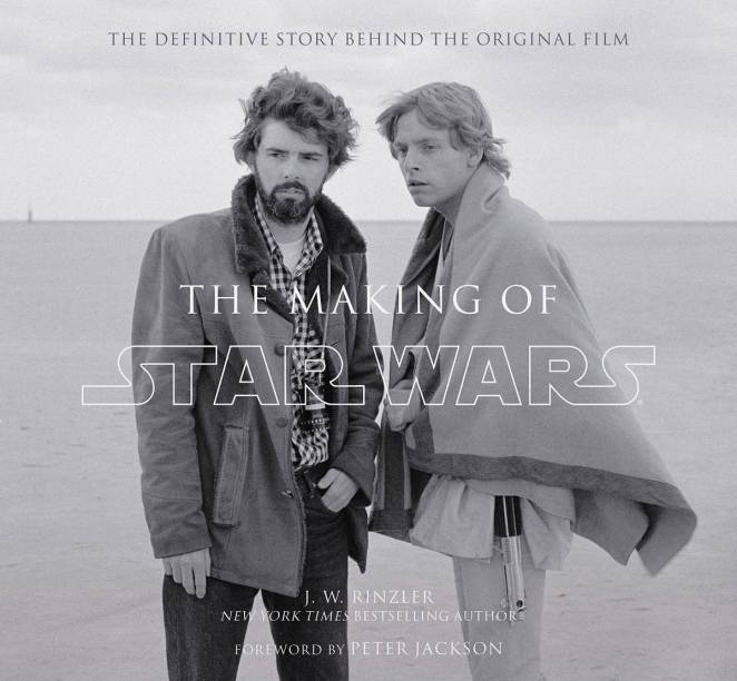 George Lucas and Mark Hamill appear on the Book cover of The Making of Star Wars
