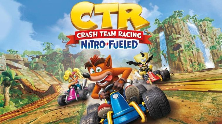 Cover of Crash Team Racing: Nitro Fueled nintendo game