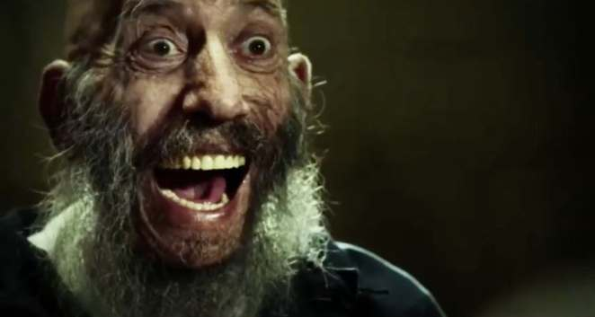Sid Haig menacingly laughing in 3 From Hell