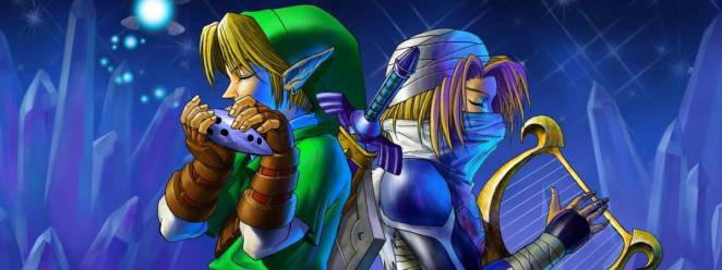 Link and Sheik jamming back to back