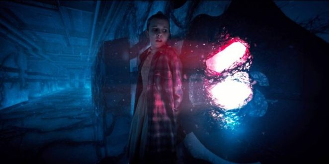 Eleven finds a way out of the Upside Down