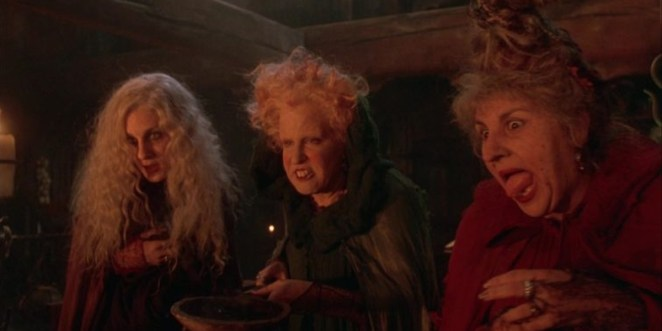 Sarah Jessica Parker As Sarah Bette Midler As Winifred Kathy Najimy As Mary In Hocus Pocus Looking Worse For Wear