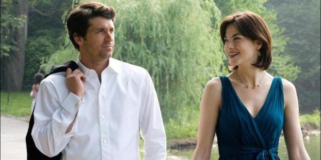 Hannah And Tom Walking Together In Made Of Honor
