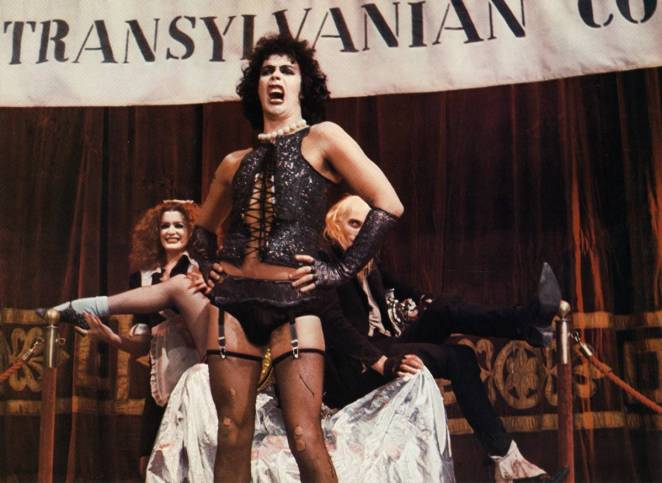 Frank unveils his transsexual corsets