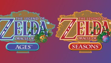 The combined logos for Oracle of Ages and Oracle and Seasons