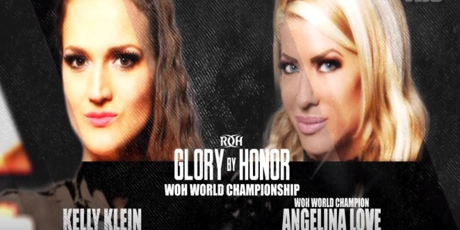 The Graphic Announces Kelly Klein And Angelina Love In A Rematch For The WOH Title