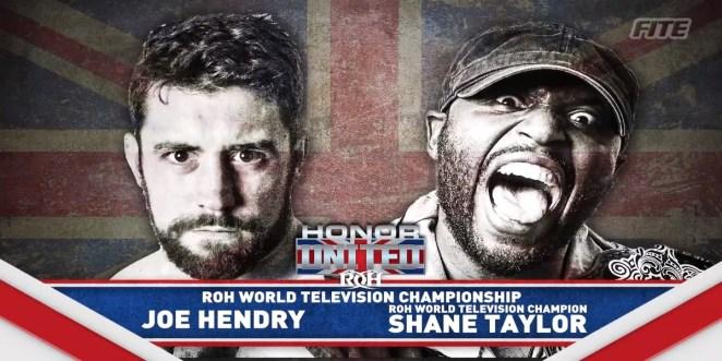 ROH Joe Hendry vs Shane Taylor