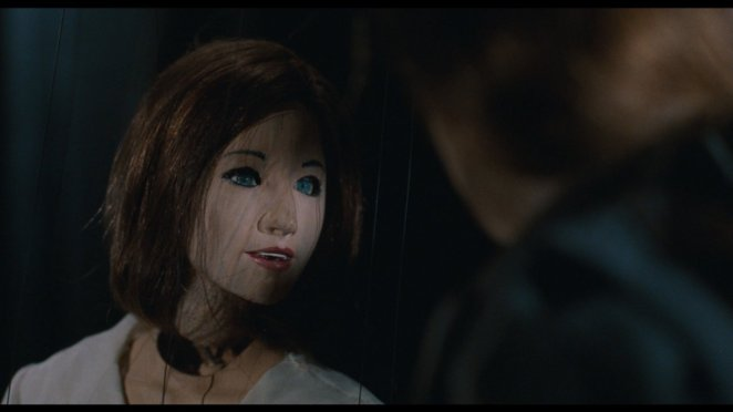 The puppet of Maxine in Being John Malkovich