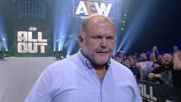 Arn Anderson at AEW All Out