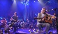 Nirvana performing on MTV unplugged