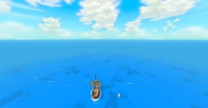 Tetra and Link sail away.