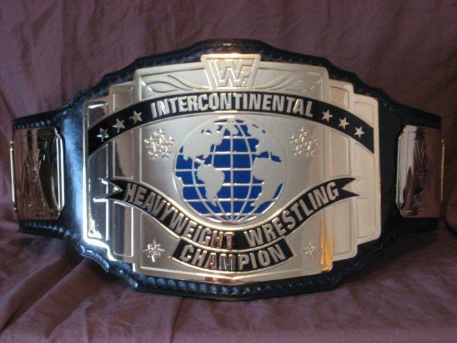 WWF Intercontinental Title belt