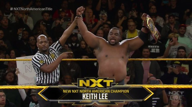 NXT North American Title Match: Keith Lee vs. Roderick Strong