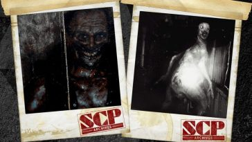 SCP Archive polaroids show monsters caught on camera
