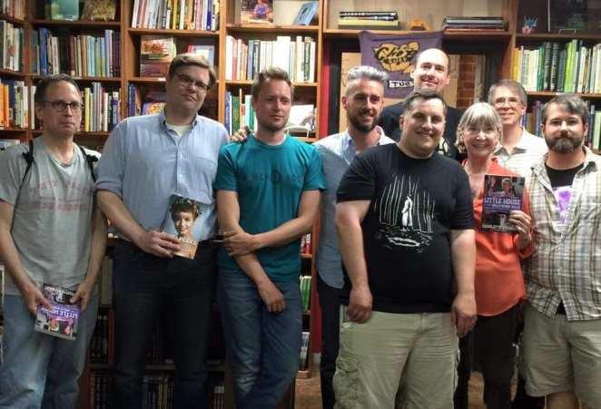 David Bushman, Scott Ryan, Brad Dukes, John Thorne, Charlotte Stewart and more friends