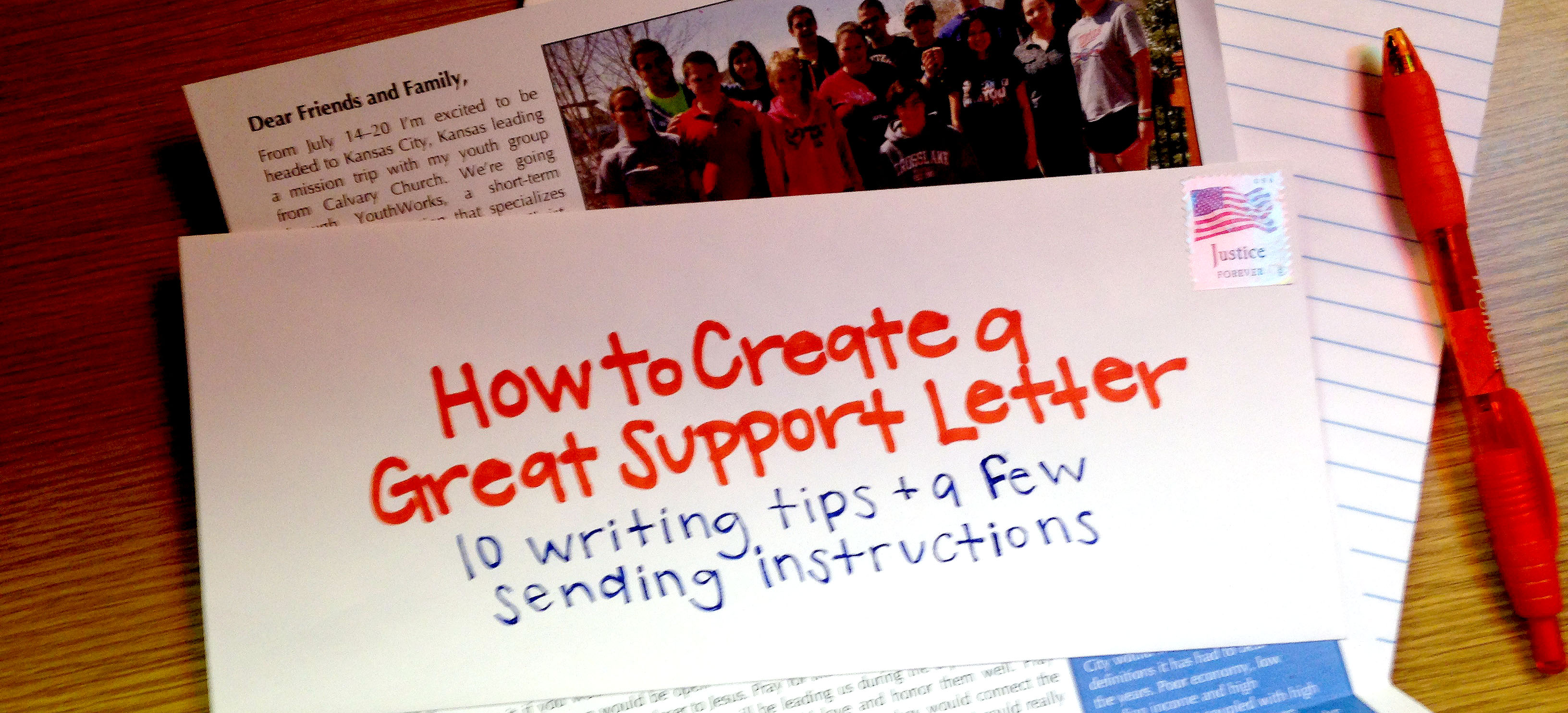 Much of those donations co. How To Create A Great Mission Trip Support Letter Youthworks