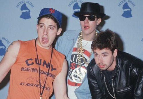 The Beastie Boys at the 1987 Grammy Awards