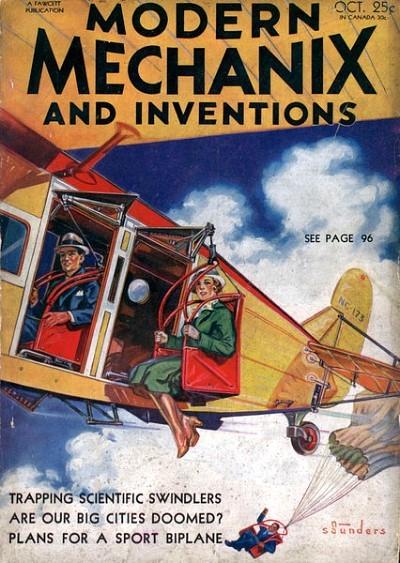 Modern Mechanix, October 1932