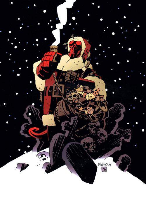 Santa Hellboy