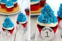 boyfriendreplacement: Celebrate Dr. Seuss's Birthday with Recipes for Thing 1 and Thing 2 Cupcakes, Pink Yink Ink Smoothies, Cat in the Hat Marshmallow Pops Recipe Completely adorable.