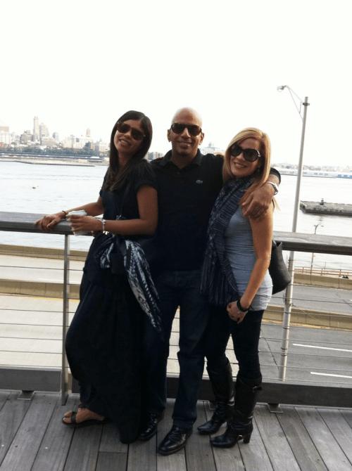 With Amanda and Arlene
