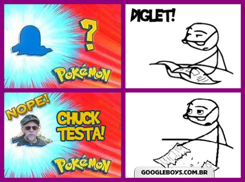 Nope ! Chuck Testa !
