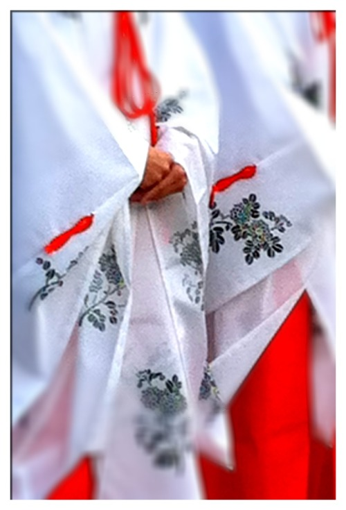 Ceremony at Meji Shrine