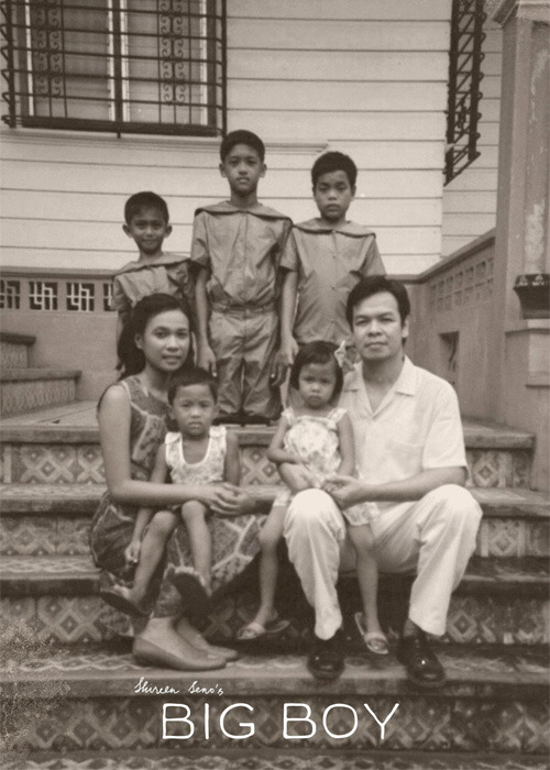Fake family photo from Shireen Seno's Big Boy (2011)