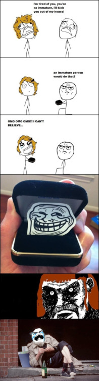 Troll Comic - The proposal