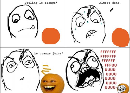 Troll Face - Annoying Orange
