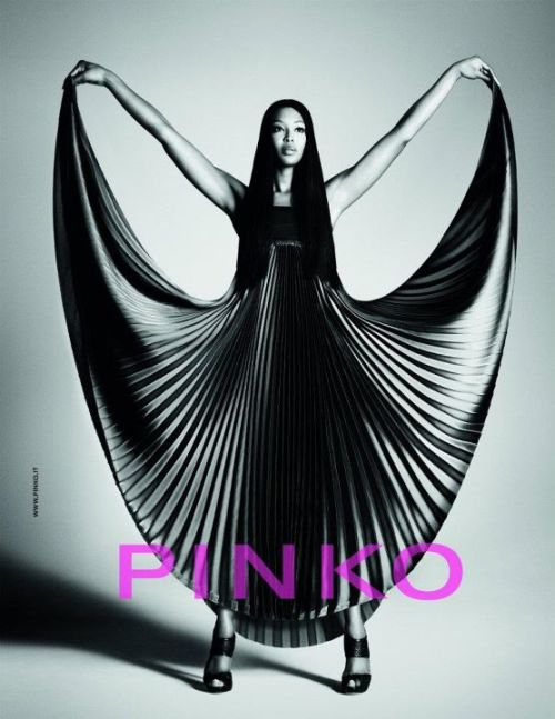 Naomi Campbell for Pinko spring/summer 2012 ad campaign.Image: TFS
