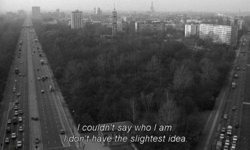 """""""No podria responder quien soy, no tengo la mas minima idea"""""""