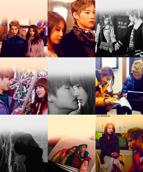 9 favourite pictures - JB and jiyeon. Requested by: raspberricca