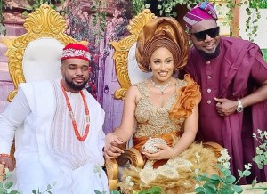 Popular Nollywood Actor Finally Ties The Knot With His Dream Woman.