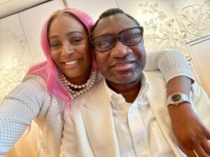 """""""My father, Femi Otedola always reminds me that when you die you cannot take your money with you"""" – DJ Cuppy"""