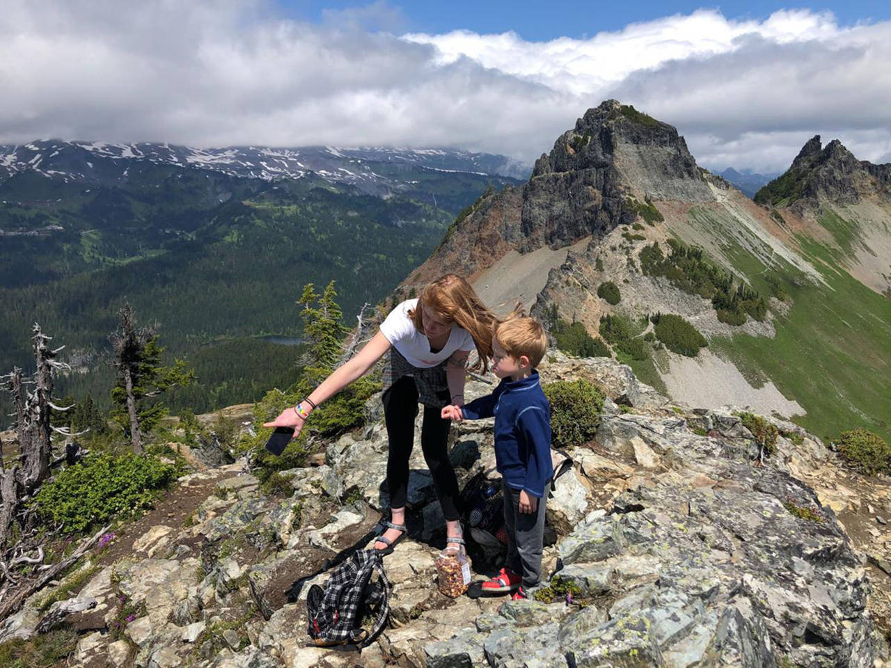 Great hike near phoenix with desert wildlife, climbing opportunities, and scenic views. Pinnacle Peak Trail Is A Scenic Day Hike At Mt Rainier National Park The Vidette