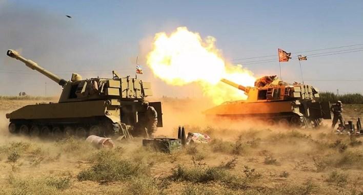 العراق : مقتل جميع الدواعش الذين هاجموا نقطة الشرطة الاتحادية بكركوك