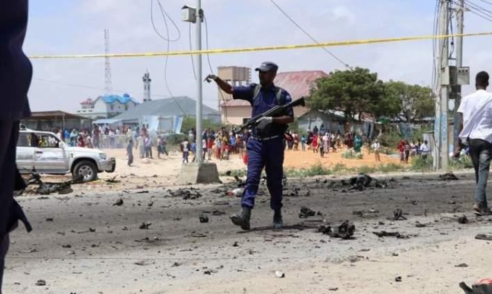 مصرع 10 أشخاص بتفجير انتحاري في مقديشو
