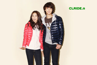 Kim So Eun with Minho (SHINee member) for CLRIDE.n