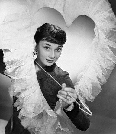 Valentines - Audrey Hepburn 1952