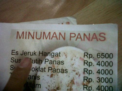 Es Jeruk Hangat (via @robyakbar) - submitted by @hielmy