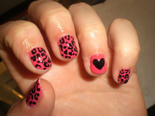 jannyxmok:  wahnails:  leopard and love