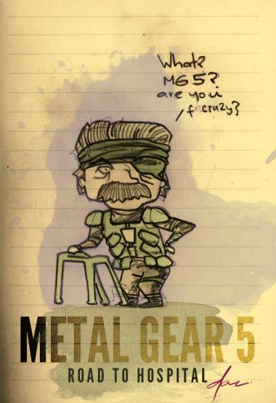spécial @salomettte!  viagamefreaksnz:    imdavidcelis:    Random Pic #226  new sketch! but he can barely breath! #metalgear @gamefreaksnz