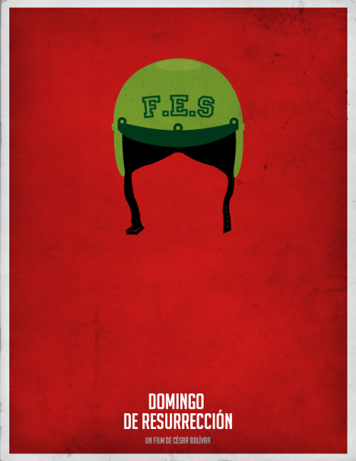 Domingo de Resurrección - Minimal Movie Poster #cinevenezolano