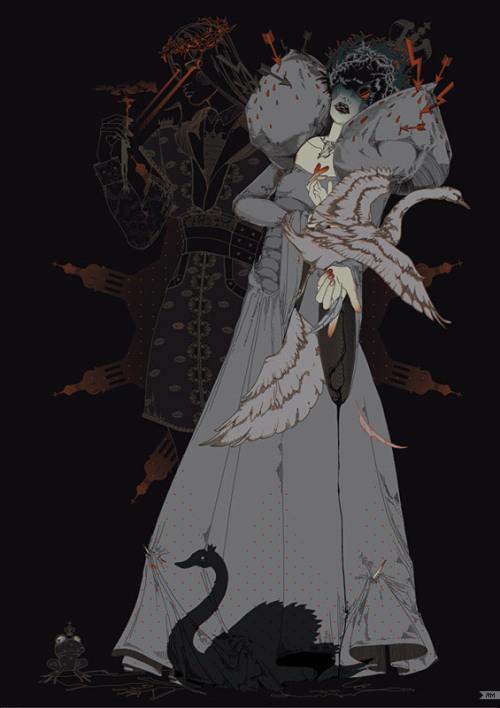 Russian Fairy Tale Illustrations by Yana Moskaluk