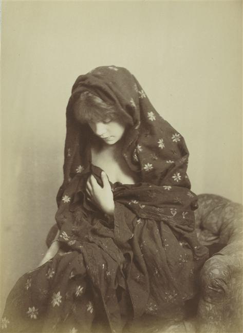 Jeune fille,1870 via RMN