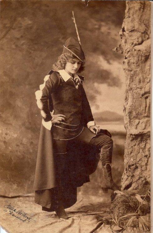 Julia Arthur as Rosalinde - Photograph by Pach