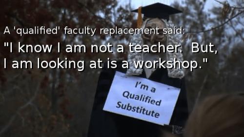 I know I am not a teacher.