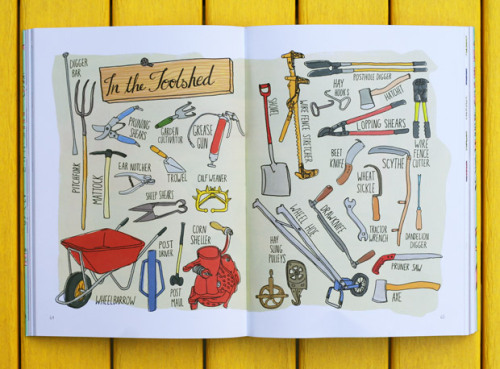 manuallabours:&lt;/p&gt;<br /> &lt;p&gt;'Farm Anatomy': Julia Rothman's Illustrated Guide to Country Life&lt;br /&gt;<br />